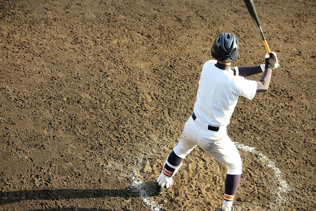 野球少年写真